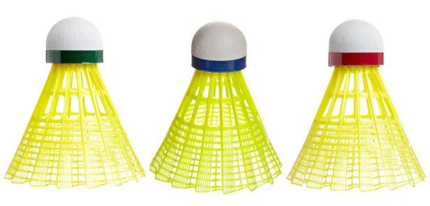 Košíčky a doplňky na badminton