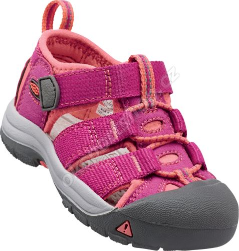 Sandále Keen Newport H2 JR Very berry/fusion coral