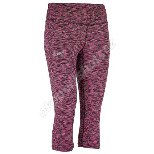 3/4 elastické kalhoty Kilpi Samana W PNK růžové