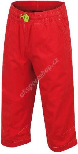 Kalhoty Hannah 3/4 Ruffy JR  Rose red