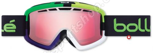Lyžařské brýle Bollé Nova II 21081 Matte Green Square Vermillon
