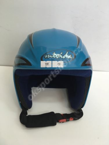 Lyžařská helma Mivida modrá 50 cm