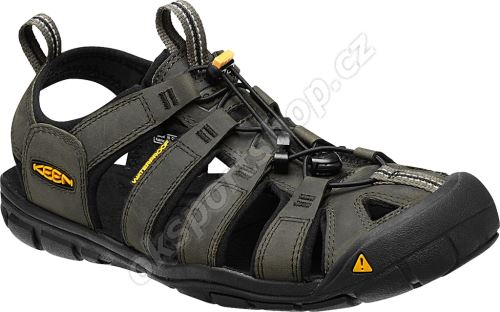 Sandále Keen Clearwater CNX Leather M, magnet/black