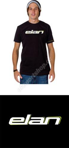 Tričko Elan Powerspine Black