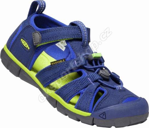 Sandále Keen SEACAMP II CNX Blue depths/chartreus