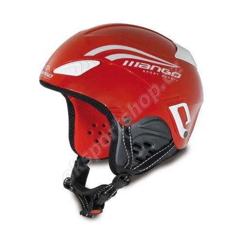 Lyžařská helma Mango Wind Baby červená 48 - 52