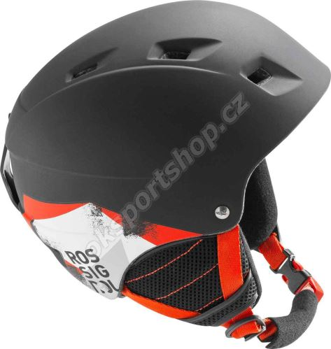 Lyžařská helma Rossignol Comp J Black-led
