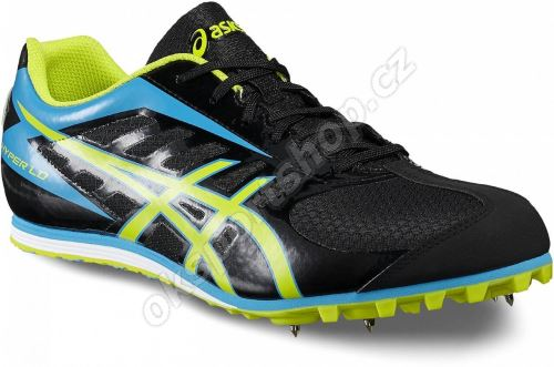 Tretry Asics Hyper LD 5 Black/Lime/Blue