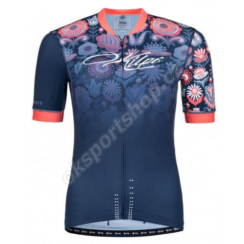 Cyklistický dres Kilpi Oreti-W tmavě modrá