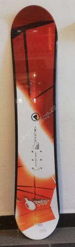 Snowboard Sporten Explosive orange 110
