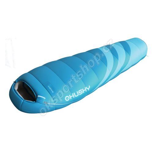 Spacák Husky Ladies Majesty modrá -10°C pravý zip