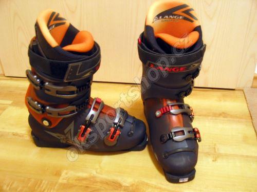 Sjezdová obuv Lange COMP 120 FR LT/BR/TRP  vel.10,5