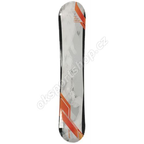Snowboard Sporten My Dirty Marwin bílo/oranžový 155