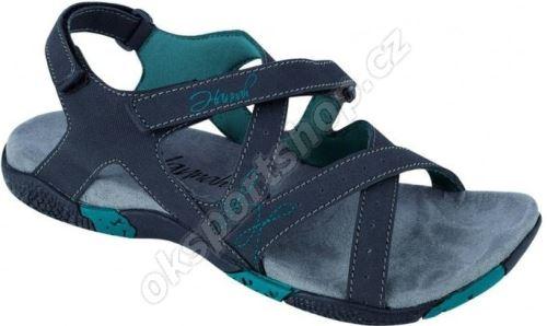Sandále Hannah Fria Lady Antracit-Blue