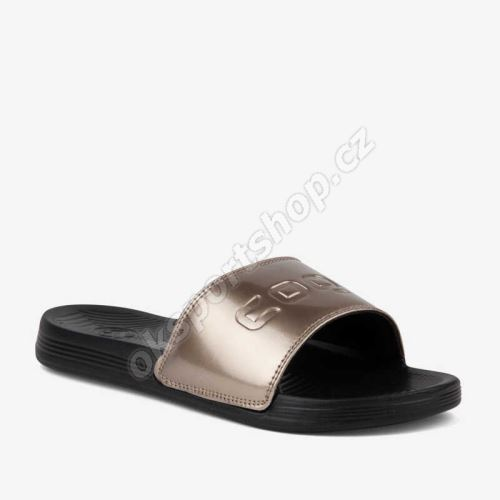 Pantofle Coqui 6343 Sana černá/bronzová