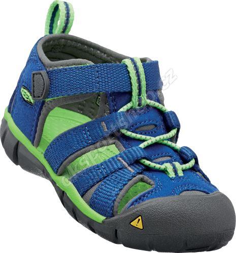 Sandále Keen SEACAMP II CNX JR true blue/jasmine green