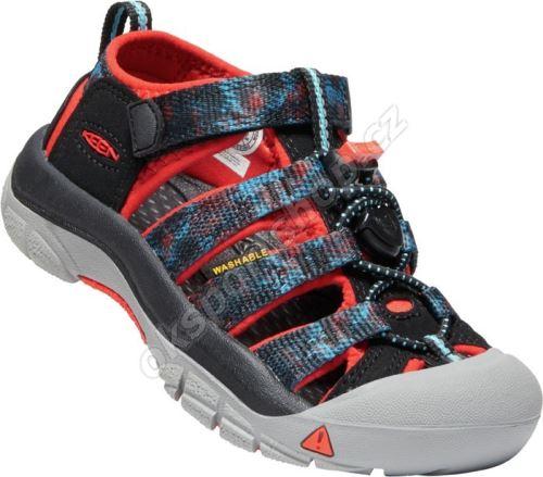 Sandále Keen NEWPORT H2 Black/orange