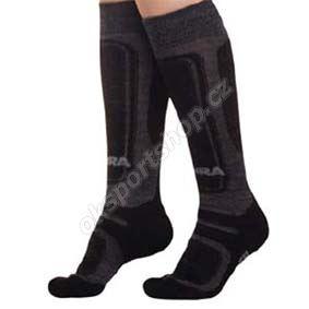 Ponožky Moira SKI dětské šedá 1-2