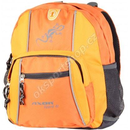 Batoh Axon Lizard oranžový 4l
