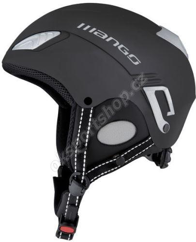 Lyžařská helma Mango Wind Free černá mat