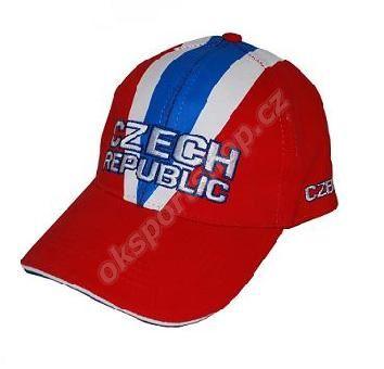 Kšiltovka Fan cap CZECH