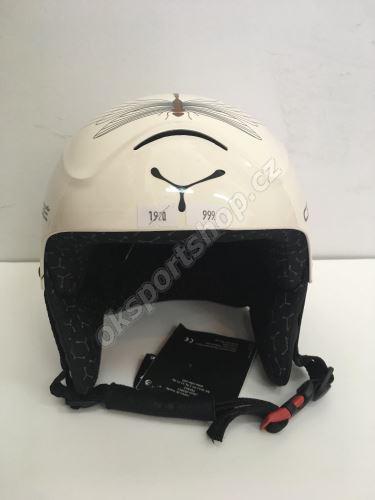 Lyžařská helma Cebe 1110 - bílá 54 cm
